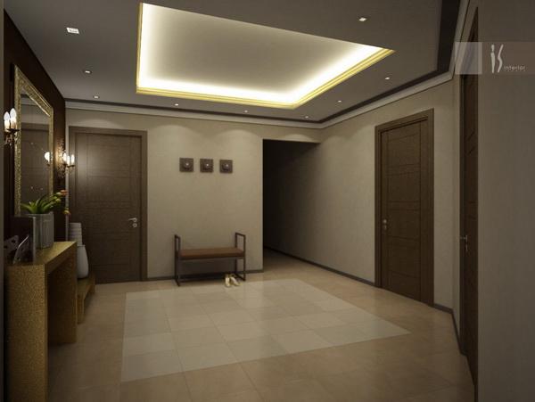 Квадратный коридор фото